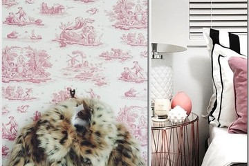 Best Drinking Glasses, Chic Pink Accents, and a Fairytale Staircase for Hump Day