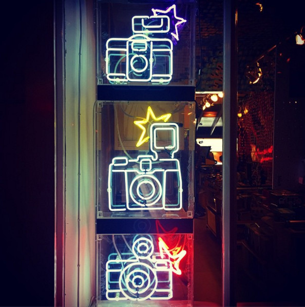 Lomography, 3 Newburgh Street, London.