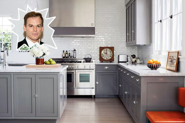 Michael C. Hall - Stunning Celebrity Kitchens - Lonny