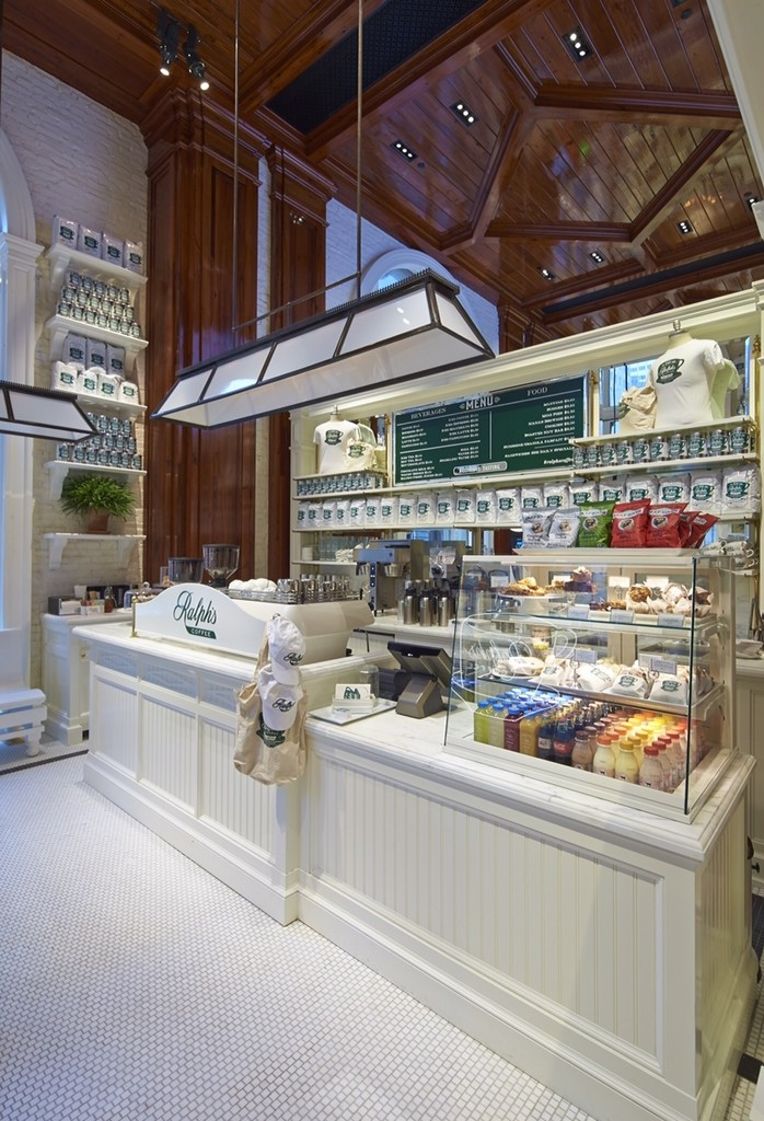 Ralph Laurens New NYC Coffee Shop See It Now Lonny