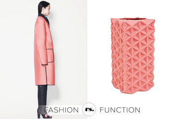 3.1 Phillip Lim Overcoat vs. Tom Dixon Vase