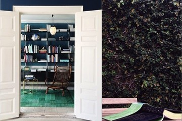 Front Foyer Makeover, Mixing Patterns, and a Fresh Spin on the Margarita