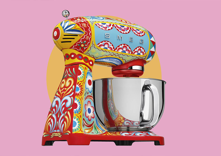 Dolce & Gabbana X Smeg Just Made Breakfast Better