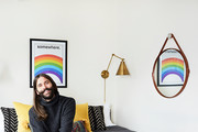 How Jonathan Van Ness Gave His NYC Apartment Cozy Cabin Vibes