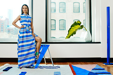 Jordana Brewster Shows Us Her Color-Soaked Home