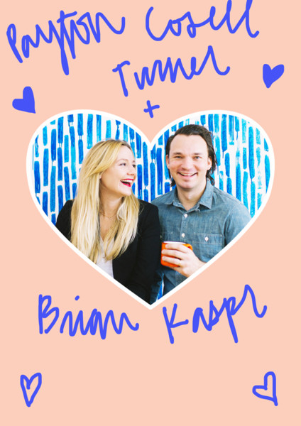 Payton Cosell Turner and Brian Kaspr
