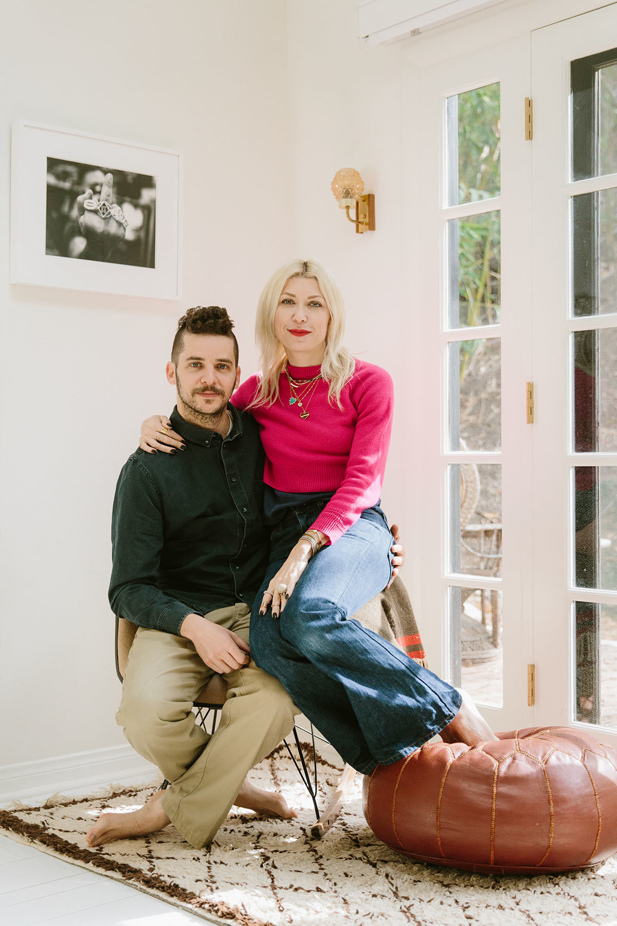 The Last Line founders share a passion for one-of-a-kind vintage furniture.