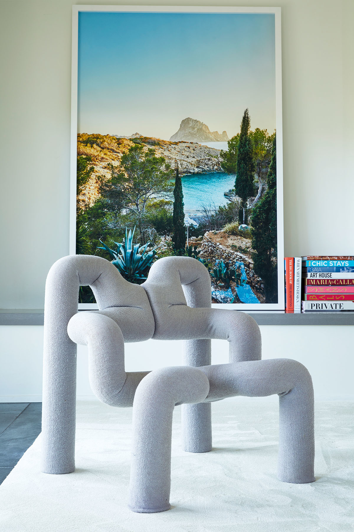 """The Terje Ekstrom ""Ekstrem"" Chairs are my favorite — and most costly purchase,"" says the designer. Stark Carpet 