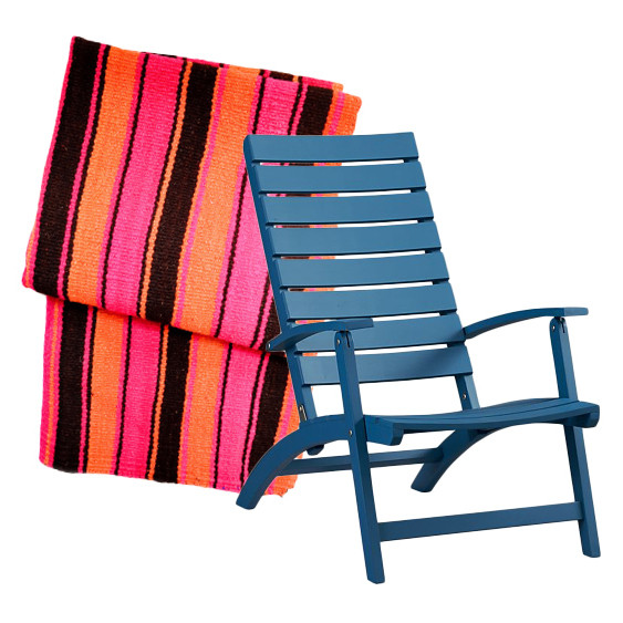 Perfect porch pairings deck chairs throws decorating lonny