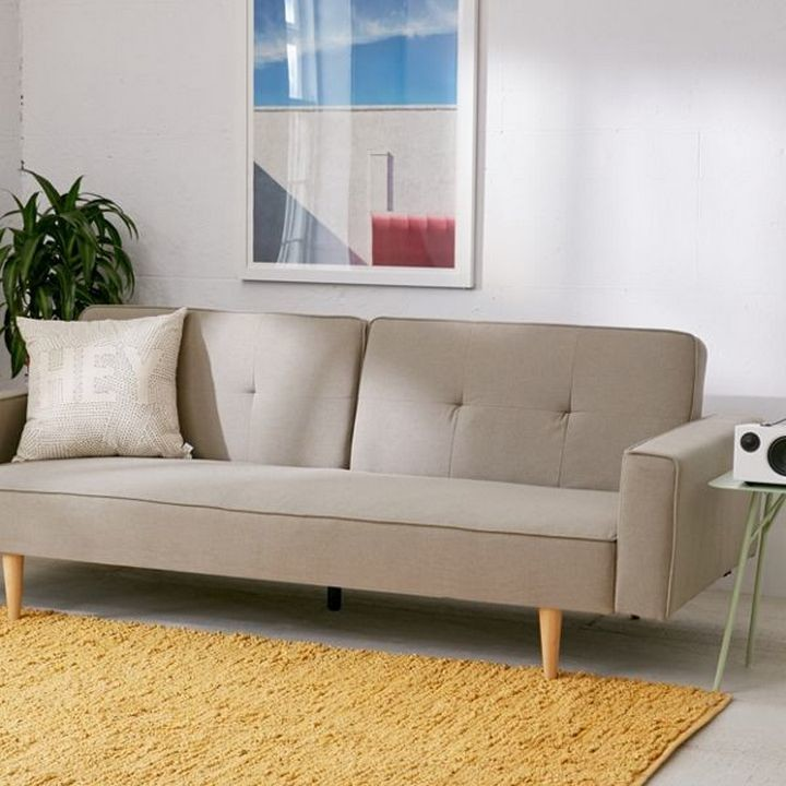 Reclining Sofa With Removable Back