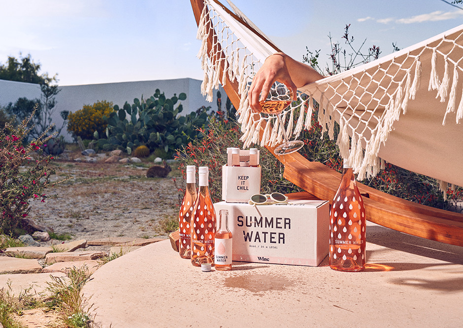 Join Winc's Summer Water Société For A Rosé Subscription