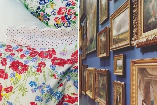 Dinner Party Tips & Tricks, How To Frame Art, and Cheerful Floral Linens