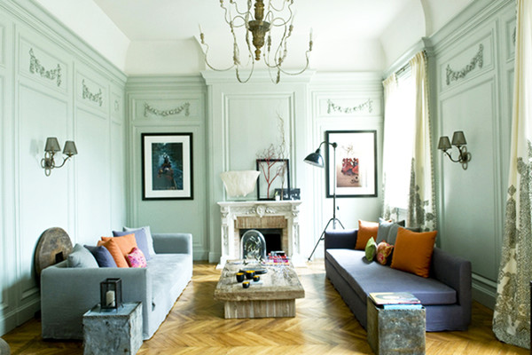 Double Facing Sofas Design Ideas To Steal From The French Lonny