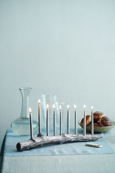 DIY Menorahs