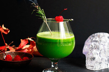 The Spookiest Healthy Halloween Cocktail Ever
