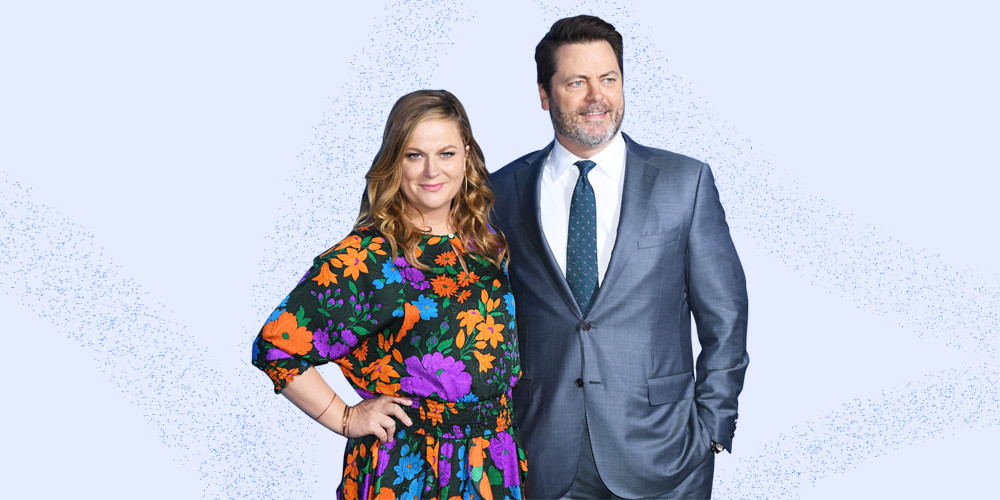 Nick Offerman and Amy Poeher's Brand-New Show Came Out Of The Woodworks