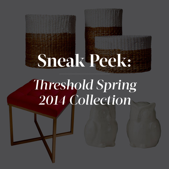 Threshold's Spring 2014 Collection