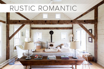 You Are: Rustic Romantic