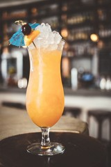 A Tropical Tiki Cocktail to Warm Up the Holidays