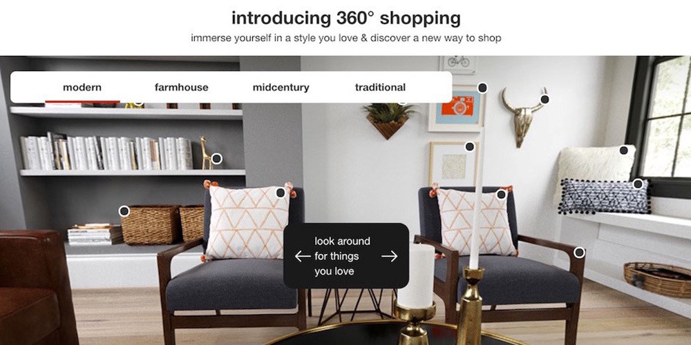 Target's New 360 Degree Home Shopping Experience