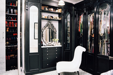Get a Colorful Closet