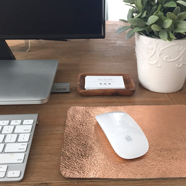 Rose Gold Mousepad
