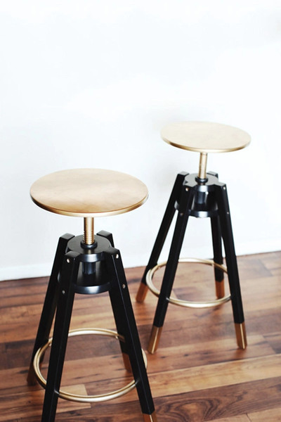 Golden Bar Stools