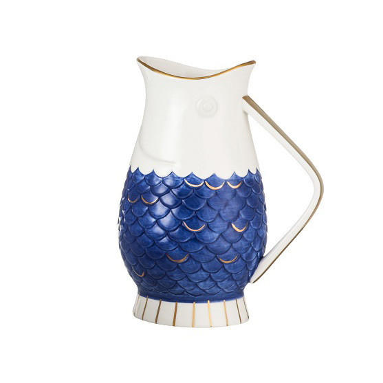 Fish Scale Pitcher