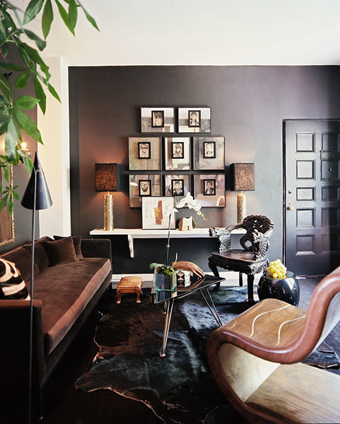 Adam Straus's Moody Masculine  L.A. Apartment