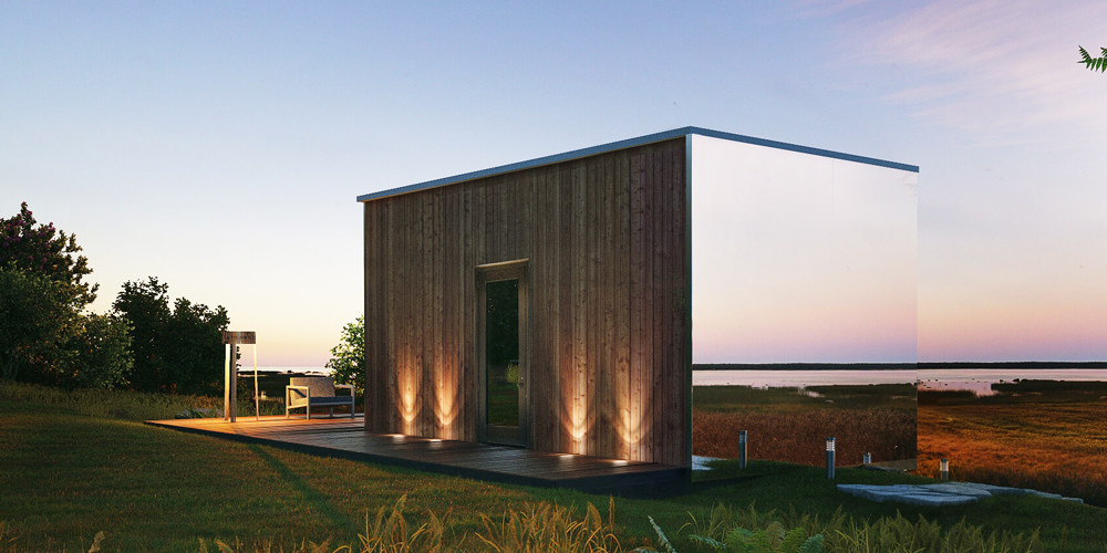 ÖÖD: A Small Modern Abode That Appears In Just Eight Hours