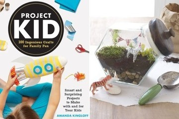 DIY Kids Projects: Baby Food Jar Planters and Terrariums