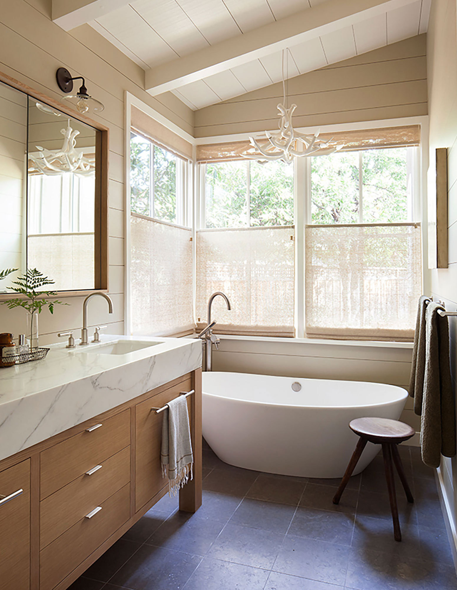 rustic chic bathroom a rustic chic family home made for indoor outdoor living 364
