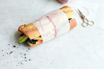 Lunchtime Staple: A Healthy Vegetable Sandwich