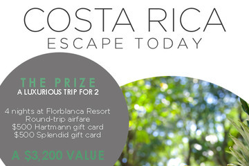 Enter to Win a Luxurious Trip for Two to Costa Rica