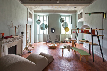 Furniture Designer Stéphanie Marin's Eclectic Apartment in Nice