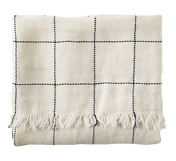 Linen Throw by Serena & Lily