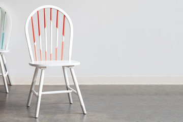 How to Make Over Your Dining Chairs with Washi Tape