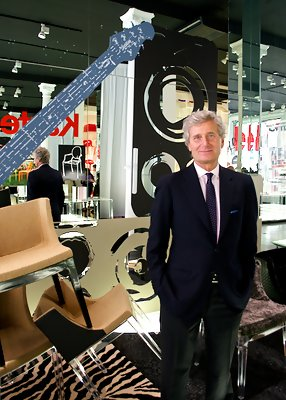 Q&A: Catching Up with Kartell's Claudio Luti