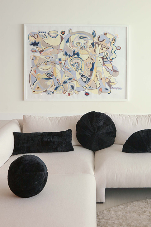 Therma Kota Pillows In Black - Therma Kota's New Home Collection Is Bringing On The Hygge Vibes - Lonny