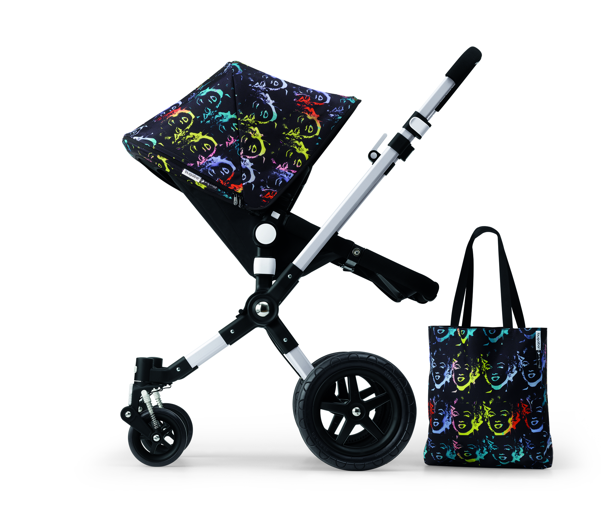 The Andy Warhol + Bugaboo Marilyn Monroe Collection.