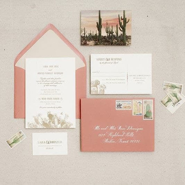 Send Invites The Top Summer Wedding Trends To Steal For Your
