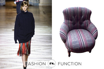 Cisco Brothers Chair vs. Dries van Noten Fall 2013