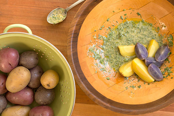 Healthy Labor Day Barbecue Recipe: No-Mayo Potato Salad