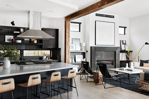 Bobby Berk Just Designed Our Dream Black & White Home