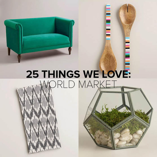 25 Irresistible Pieces from World Market