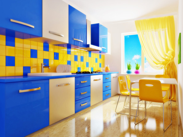 Primary Colors Cool Kitchen Ideas Lonny