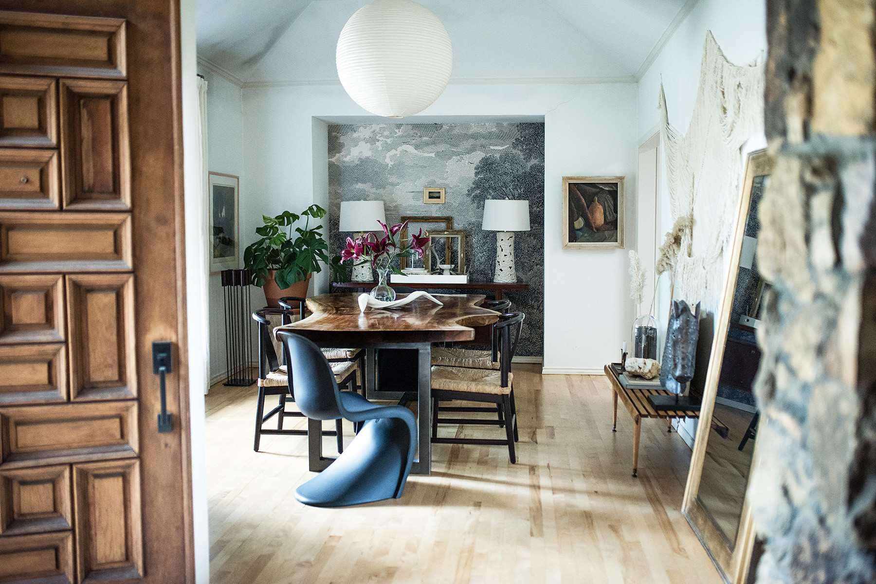 Inside A Designer's Breathtaking Studio Space & Home