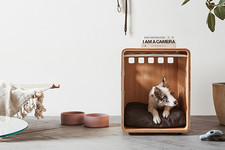 Meet The Dog Crate You'll Actually Want In Your Home