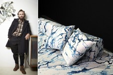 Mathias Kiss & Pierre Frey Release a Marble-Inspired Print