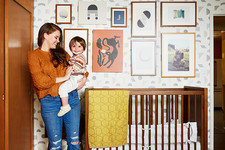 A Mid-Century Nursery Design Full Of Art And Vintage Details